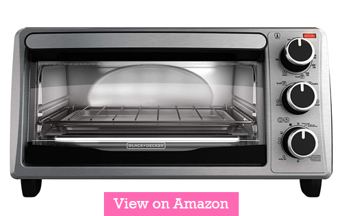 Black and Decker TO1303SB 4 slice toaster oven