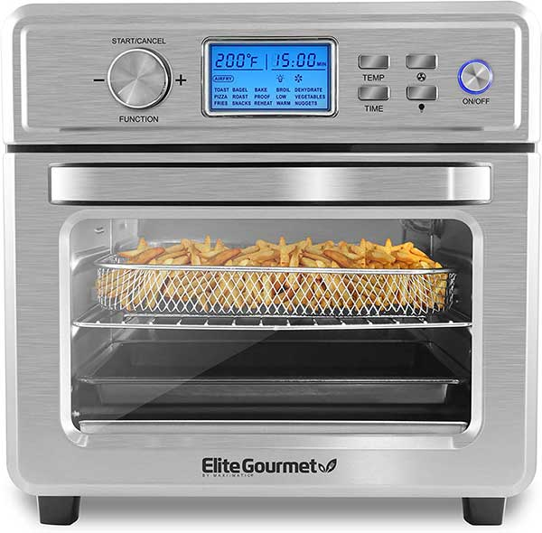 Elite Gourmet EAF8190D Maxi-Matic Digital Programmable Fryer Oven