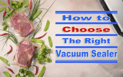 How to Choose the Right Vacuum Sealer?