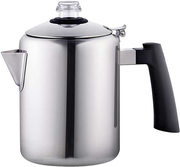 Cook N Home Stainless Steel Stovetop Coffee Percolator